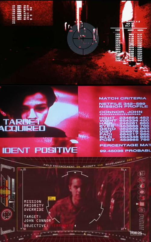 Evolución del HUD desde The Terminator hasta Terminator 3